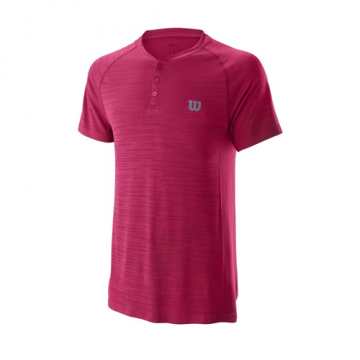 Wilson Competition Seamless Henley polo